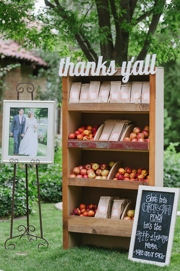 Fresh Fruit Wedding Inspiration | Bridal Musings Wedding Blog 8