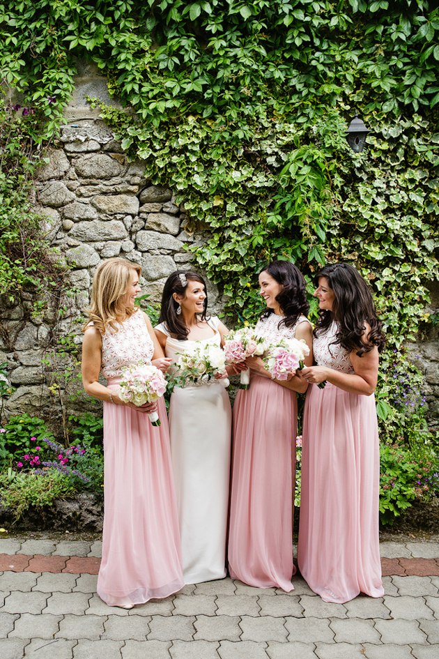 Pink Wedding Dresses Ireland : Irish wedding inspired by love photography bridal musings
