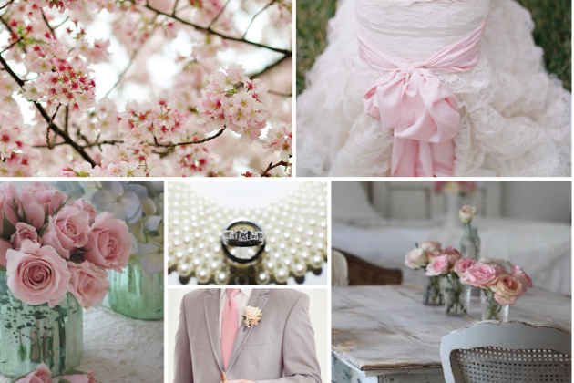 Sage Green and Rose Wedding Inspiration Board | Rose and Ruby Paper Co | Bridal Musings Wedding Blog 3