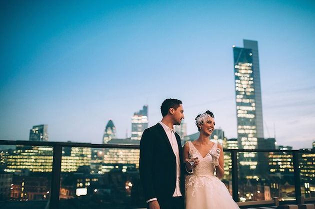 Shoreditch House | Best Rooftop Wedding Venues in the World | Bridal Musings Wedding Blog 4