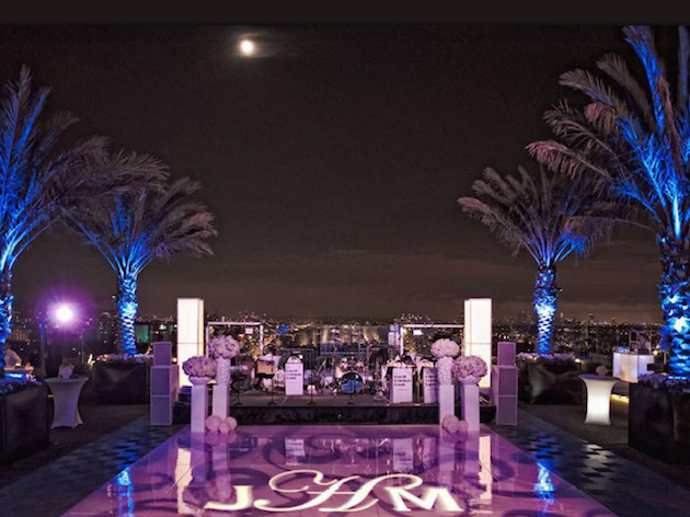 The 10 coolest rooftop wedding venues in the world for Top 10 wedding venues