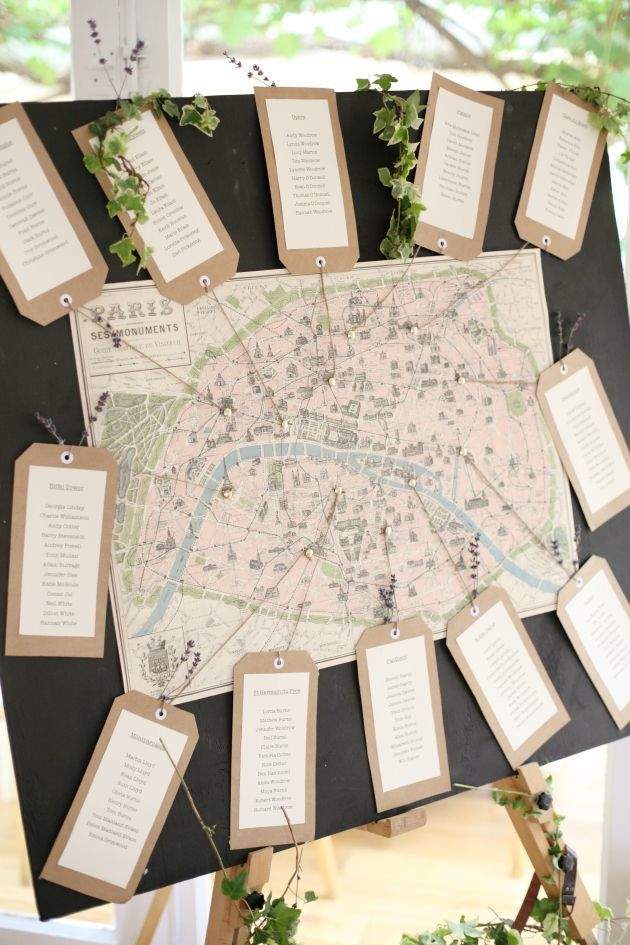 15 unique seating charts bridal musings wedding blog - Modele plan de table mariage gratuit ...