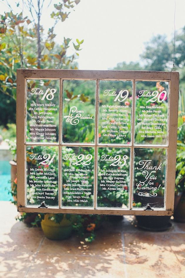 How To} Create a Seating Chart - Wedding Planners Nashville