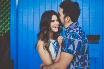 Utterly Adorable & Super Stylish Engagement Shoot in LA