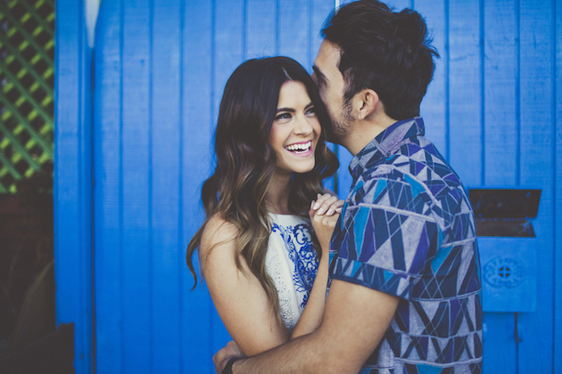 Utterly Adorable and Super Stylish LA Engagement Shoot | Sarah Kathleen Photography | Bridal Musings Wedding Blog 3