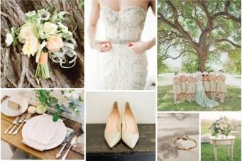 Under the Trees; Fresh Autumnal Wedding Inspiration Board