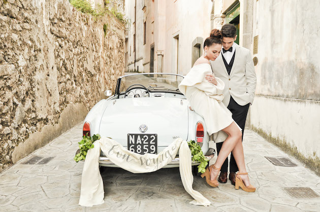 Chic Amalfi Wedding Inspiration | Sarah Love Photography | Bridal Musings Wedding Blog 26