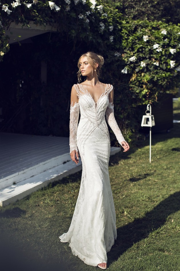 Riki Dalal 2014 Wedding Dress Collection | Sheer Sexy Wedding Dresses | Bridal Musings Wedding Blog 12