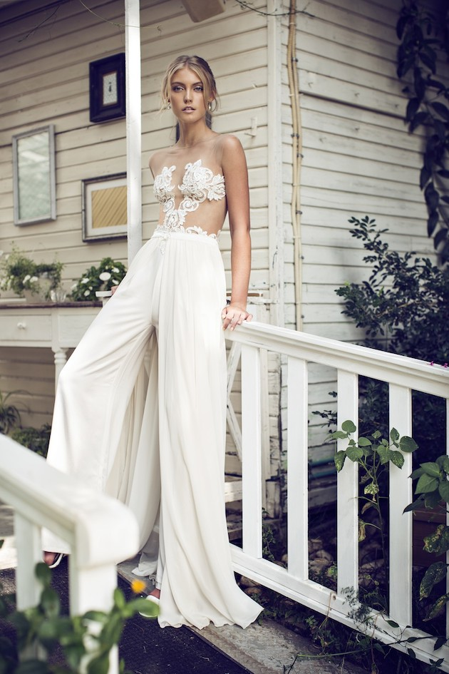 Riki Dalal 2014 Wedding Dress Collection | Sheer Sexy Wedding Dresses | Bridal Musings Wedding Blog 19