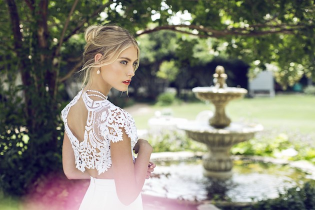 Riki Dalal 2014 Wedding Dress Collection | Sheer Sexy Wedding Dresses | Bridal Musings Wedding Blog 2