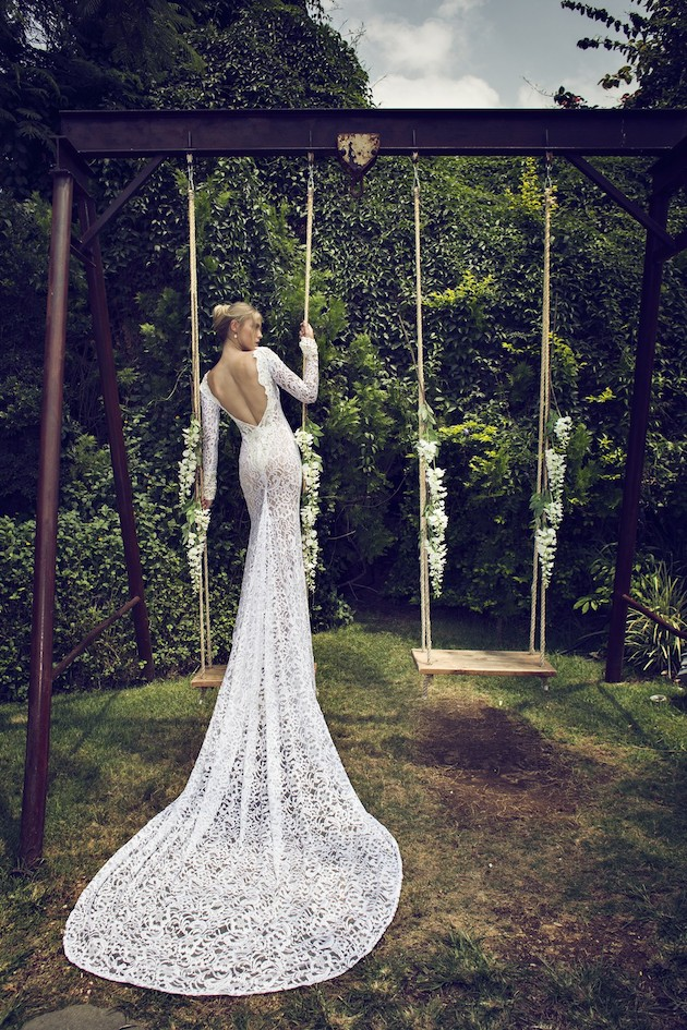 Riki Dalal 2014 Wedding Dress Collection | Sheer Sexy Wedding Dresses | Bridal Musings Wedding Blog 24