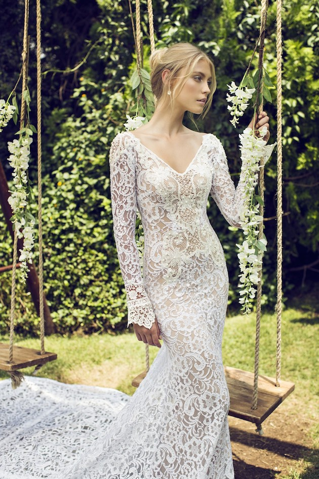 Riki Dalal 2014 Wedding Dress Collection | Sheer Sexy Wedding Dresses | Bridal Musings Wedding Blog 25