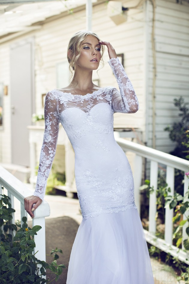 Riki Dalal 2014 Wedding Dress Collection | Sheer Sexy Wedding Dresses | Bridal Musings Wedding Blog 5