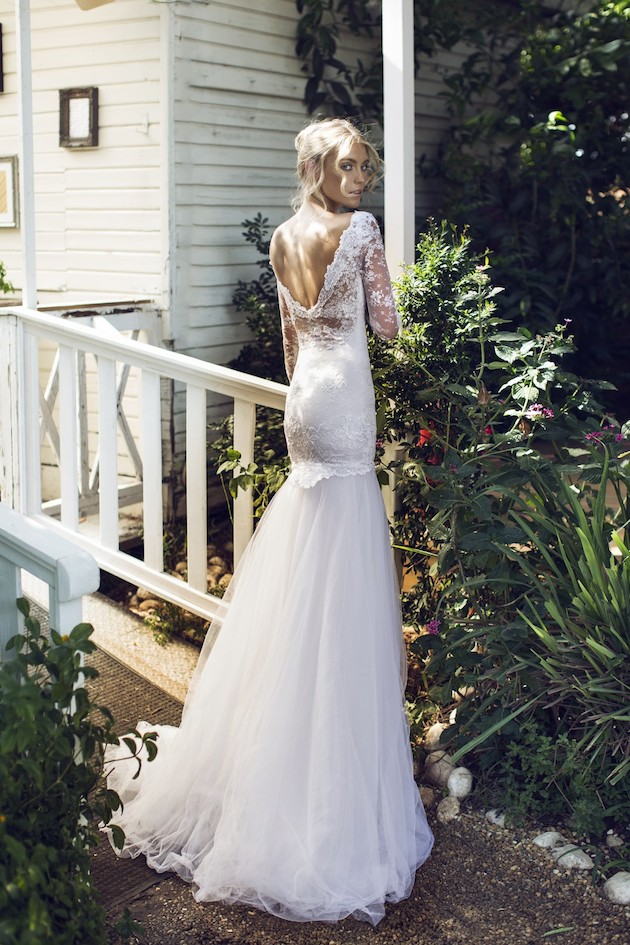 Riki Dalal 2014 Wedding Dress Collection | Sheer Sexy Wedding Dresses | Bridal Musings Wedding Blog 6