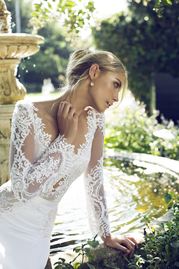 Riki Dalal 2014 Wedding Dress Collection | Sheer Sexy Wedding Dresses | Bridal Musings Wedding Blog 8