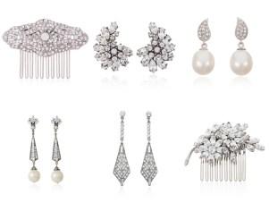 Timeless Elegance and Sheer Glamour, Thomas Laine Bridal Jewelry