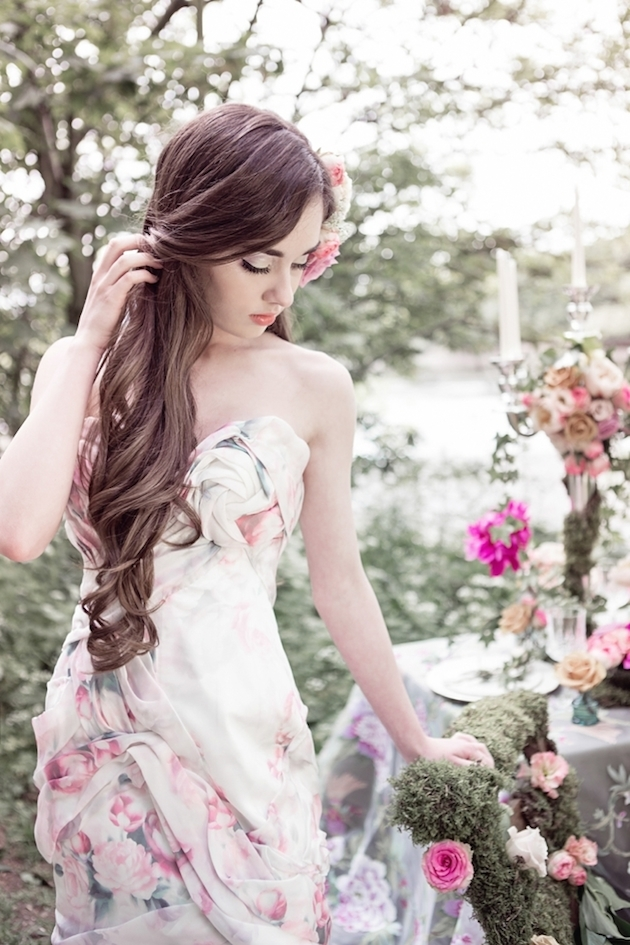 15 Floral Wedding Dresses | Alternative Wedding Dresses | Bridal Musings Wedding Blog 14