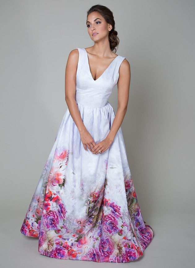 15 Floral Wedding Dresses | Alternative Wedding Dresses | Bridal Musings Wedding Blog 2