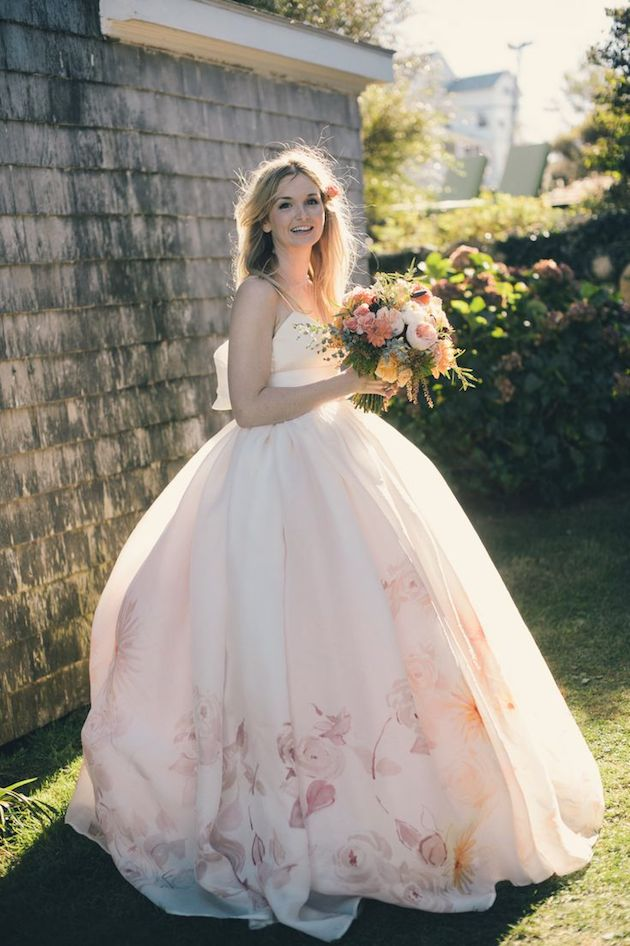 15 Floral Wedding Dresses | Alternative Wedding Dresses | Bridal Musings Wedding Blog 5