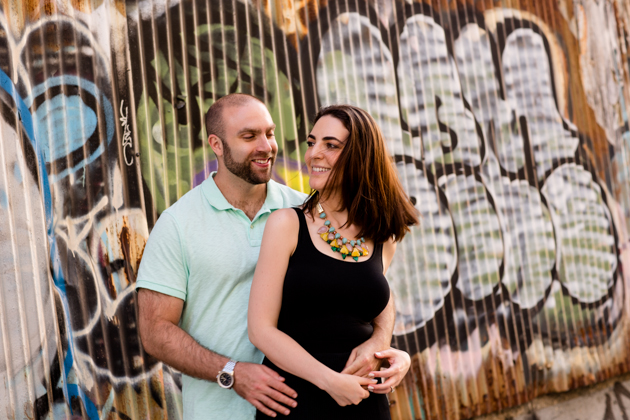 Cool Brooklyn Engagement Session | Farnaz K Studio | Bridal Musings Wedding Blog 12