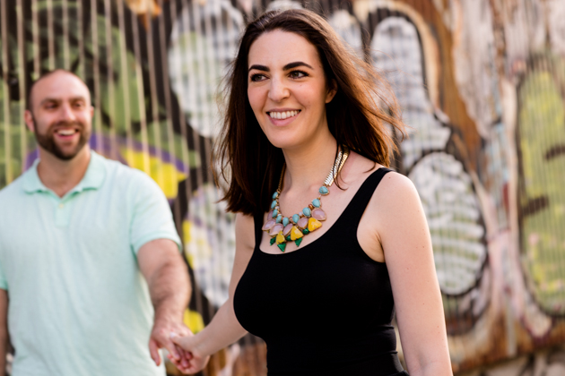 Cool Brooklyn Engagement Session | Farnaz K Studio | Bridal Musings Wedding Blog 13