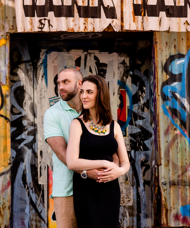 Cool Brooklyn Engagement Session | Farnaz K Studio | Bridal Musings Wedding Blog 14