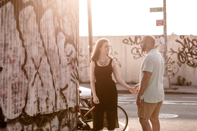 Cool Brooklyn Engagement Session | Farnaz K Studio | Bridal Musings Wedding Blog 16