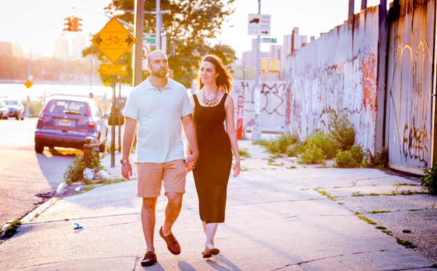 Cool Brooklyn Engagement Session | Farnaz K Studio | Bridal Musings Wedding Blog 19
