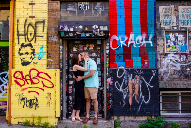 Cool Brooklyn Engagement Session | Farnaz K Studio | Bridal Musings Wedding Blog 3