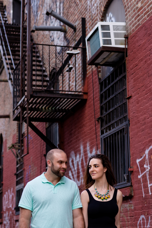Cool Brooklyn Engagement Session | Farnaz K Studio | Bridal Musings Wedding Blog 5