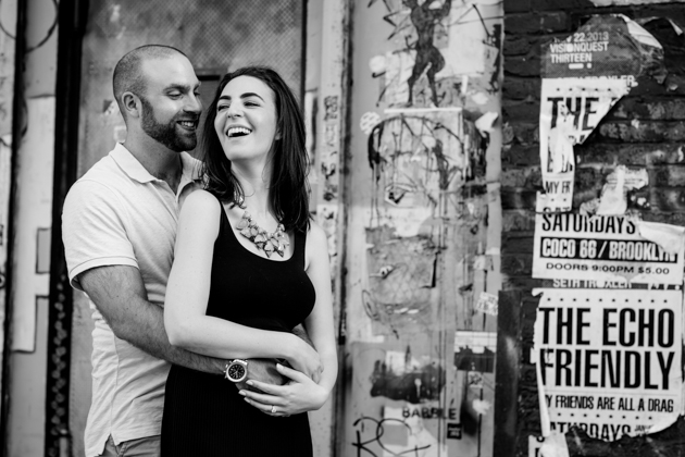 Cool Brooklyn Engagement Session | Farnaz K Studio | Bridal Musings Wedding Blog 6