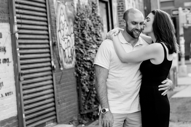 Cool Brooklyn Engagement Session | Farnaz K Studio | Bridal Musings Wedding Blog 7