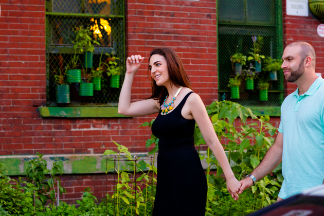 Cool Brooklyn Engagement Session | Farnaz K Studio | Bridal Musings Wedding Blog 8