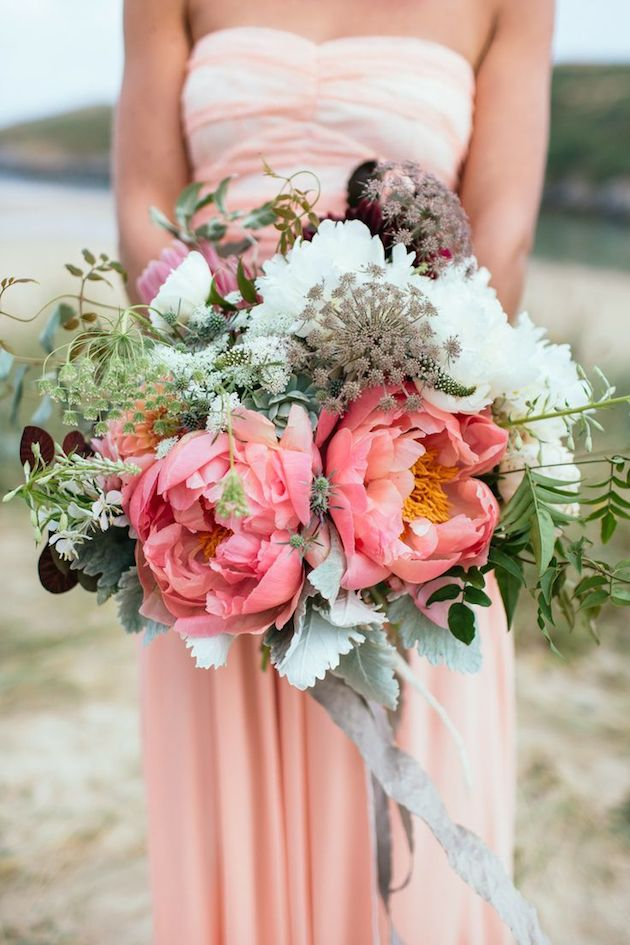 Bridal Bouquets Using Peonies : The expert guide to peonies at your wedding
