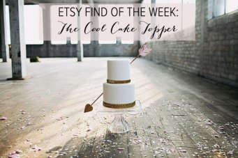 Etsy Find of The Week: The Cool Cake Topper