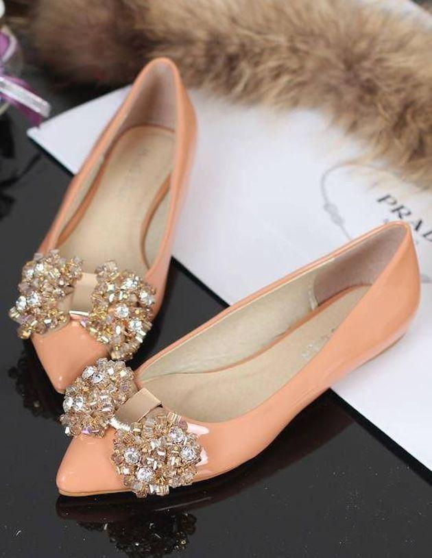 Bling Flat Wedding Shoes Flat Wedding Shoes | Flat