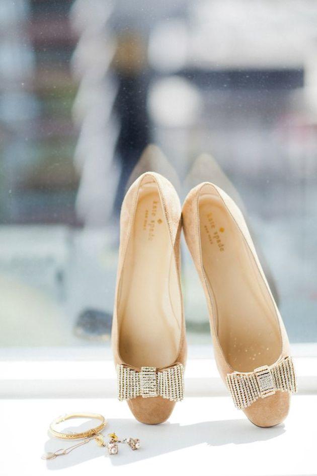 Flat Wedding Shoes | Flat Bridal Pumps | Bridal Musings Wedding Blog 12