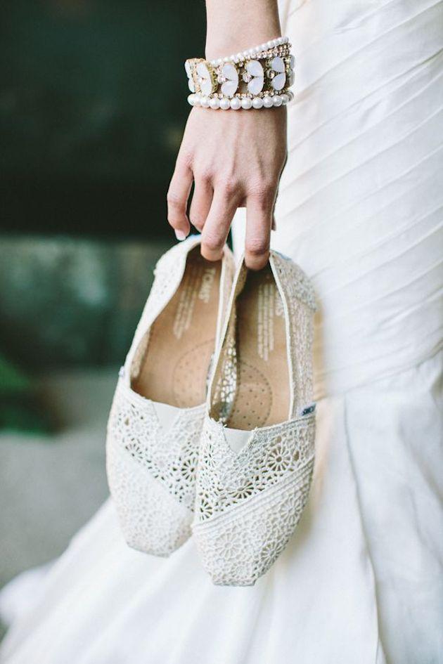Flat Wedding Shoes | Flat Bridal Pumps | Bridal Musings Wedding Blog 2