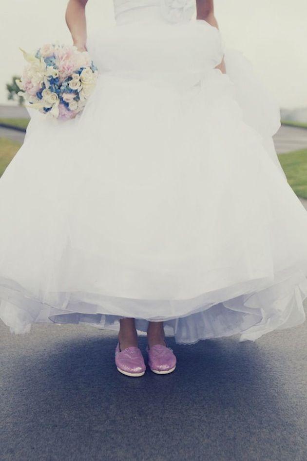 Flat Wedding Shoes | Flat Bridal Pumps | Bridal Musings Wedding Blog 3