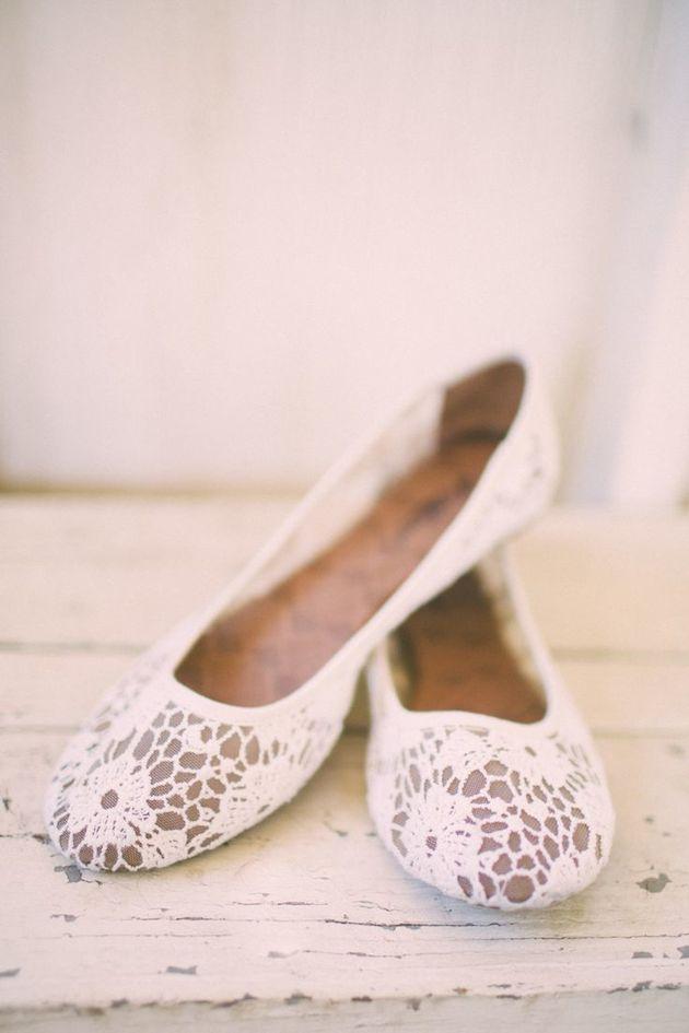 Flat Wedding Shoes | Flat Bridal Pumps | Bridal Musings ...
