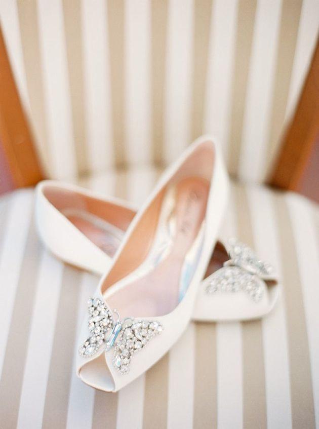 Flat Wedding Shoes | Flat Bridal Pumps | Bridal Musings Wedding Blog 5