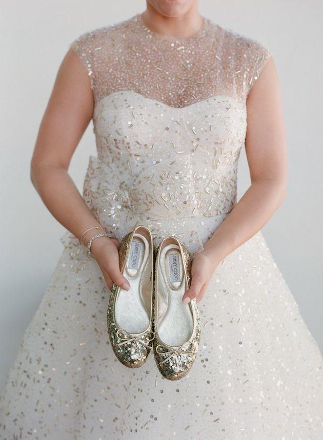 Flat Wedding Shoes | Flat Bridal Pumps | Bridal Musings Wedding Blog 6