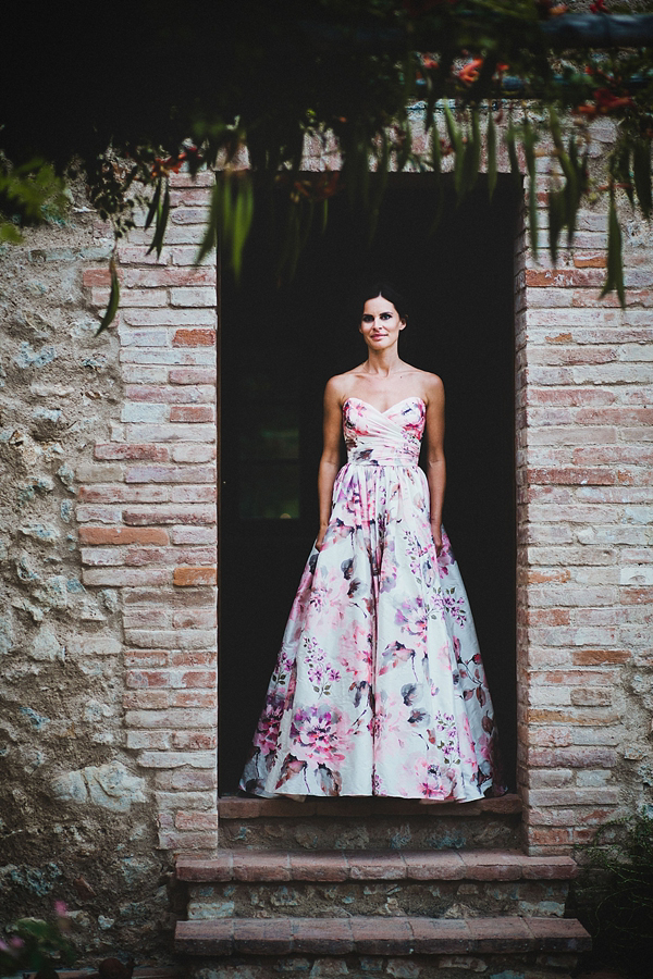 Floral Wedding Dresses | Bridal Musings Wedding Blog 00