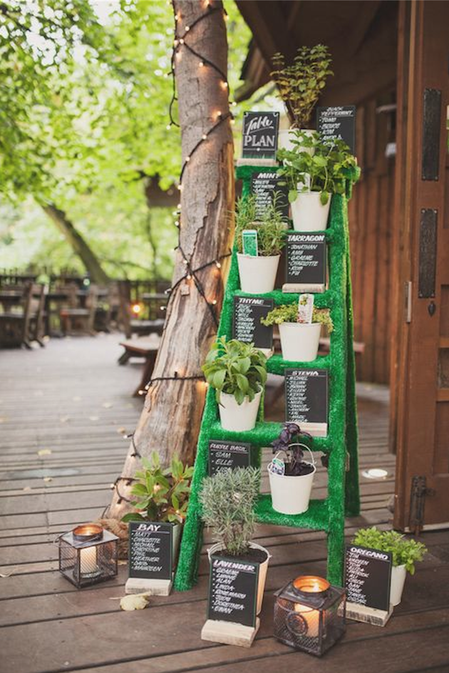 Herb Wedding Ideas | Herb Bouquets | Bridal Musings Wedding Blog 19