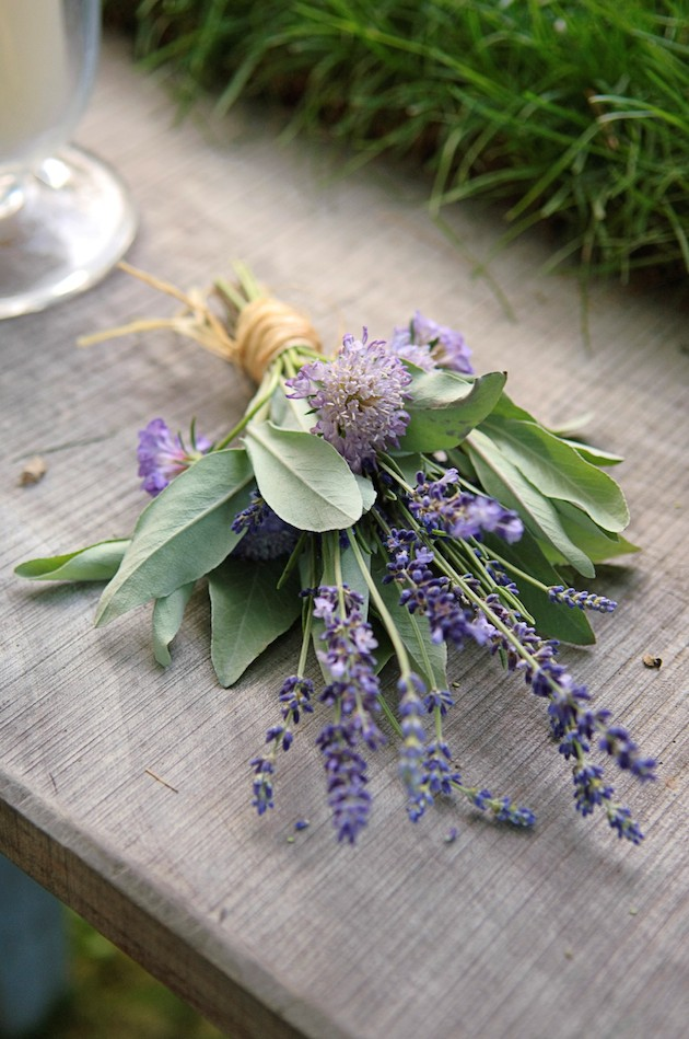 Herb Wedding Ideas | Herb Bouquets | Bridal Musings Wedding Blog 2