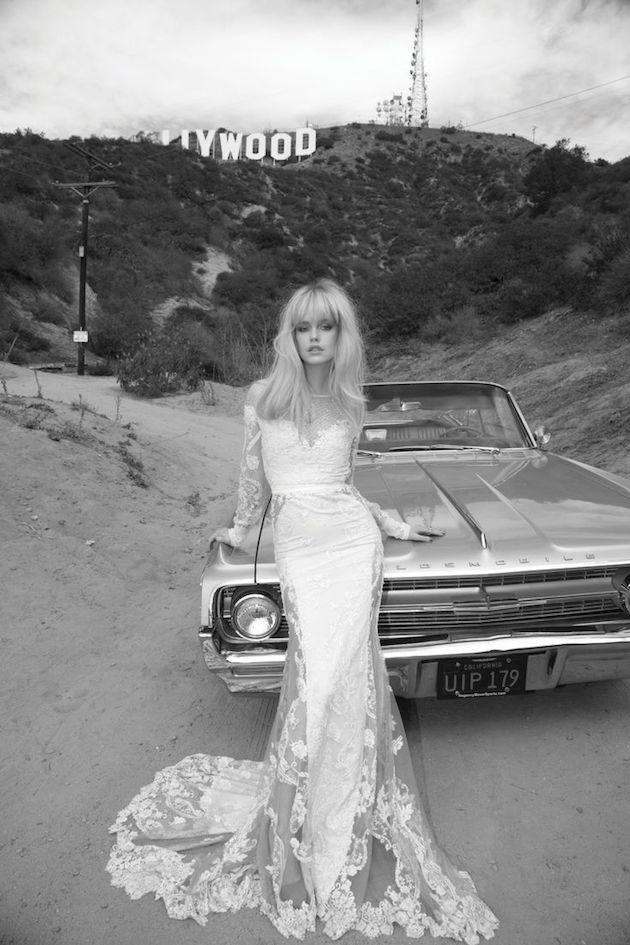 Inbal Dror 2014 Wedding Dress Collection | Bridal Musings Wedding Blog 42