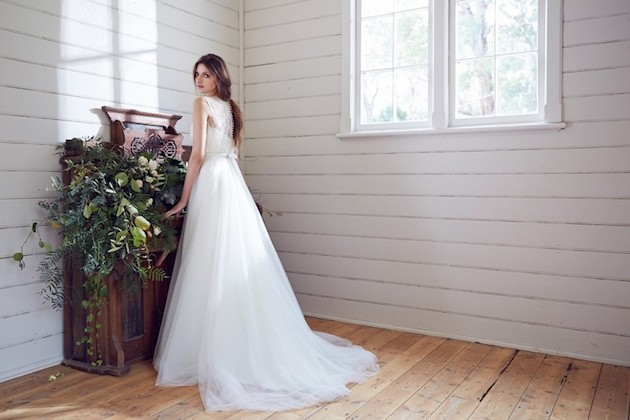 Karen Willis Holmes 2014 Wedding Dress Collection | Bridal Musings Wedding Blog 24