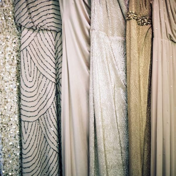 Metallic Wedding Dresses | Bridal Musings Wedding Blog 2