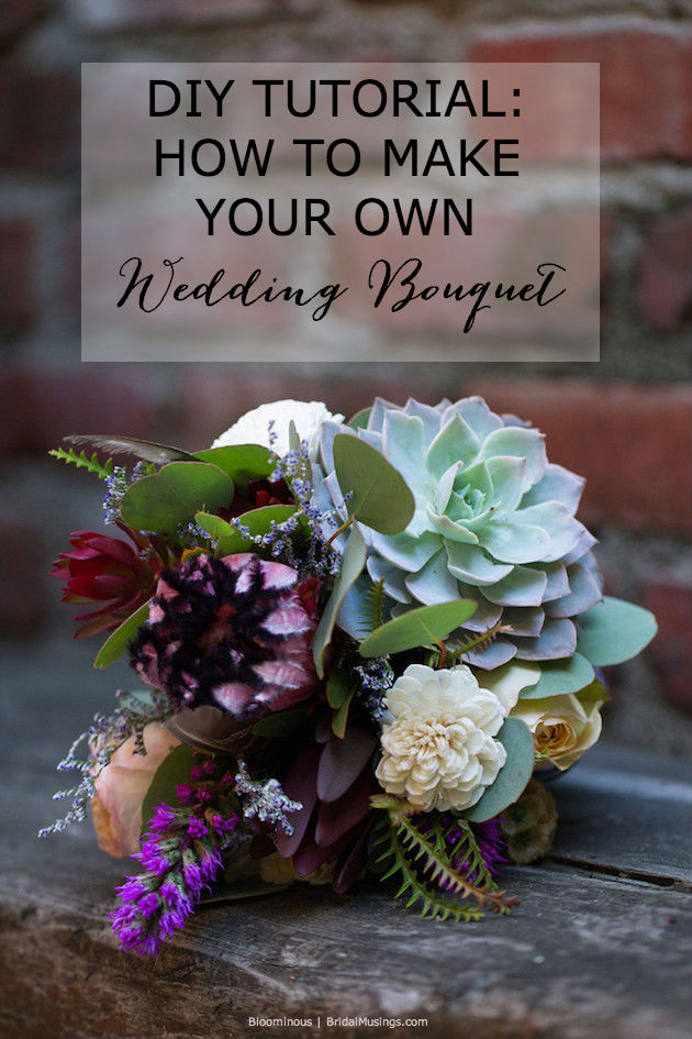 DIY Tutorial: How To Make Your Own Bohemian Wedding Bouquet