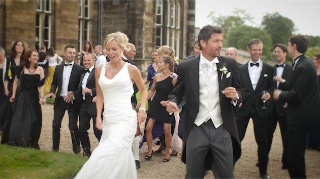 Relaxed Sophistication Scottish Wedding Film By White